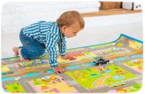 детский коврик дорожное движение