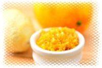 апельсиновая цедра для купания