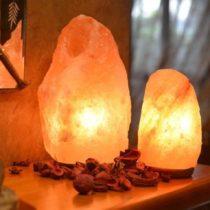чем полезна домашняя солевая лампа
