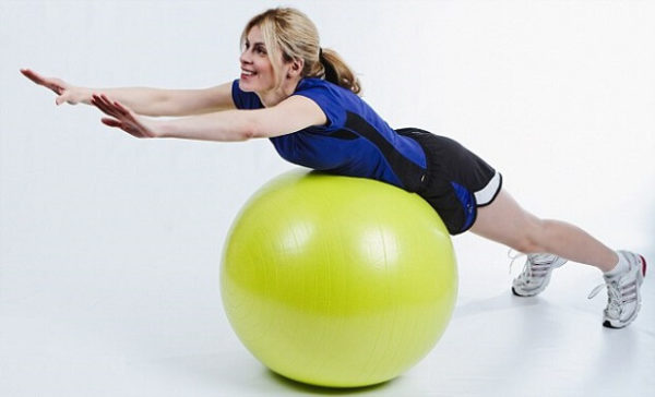 как похудеть с помощью фитбола