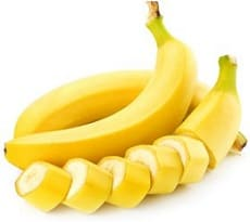 ломтики банана для приготовления печени