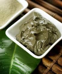 маски для лица с зеленой глиной