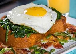 яичный бутерброд