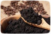 кофейная гуща от неприятных запахов