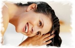 чем ополаскивать волосы для блеска