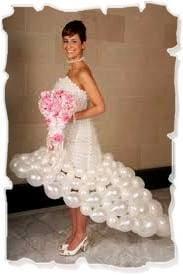 свадебное платье из воздуха
