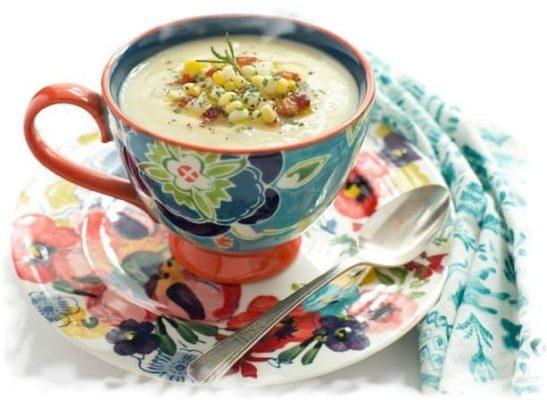 Сытный кукурузный суп