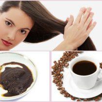 кофе в уходе за волосами