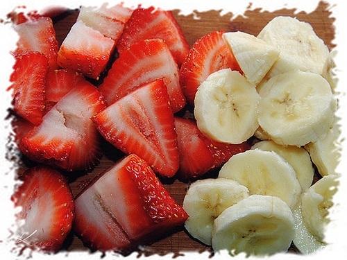 Сладкие фруктовые слойки