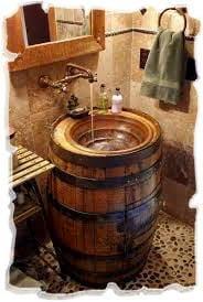 необычная раковина для ванной