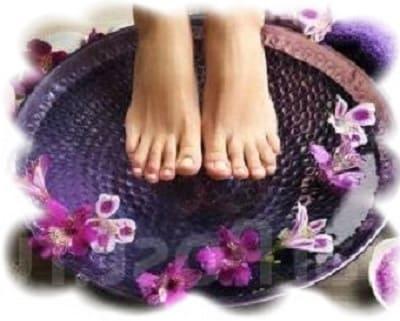 ванночки для ног с лавандой от потливости