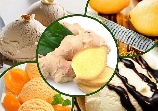 идеи приготовления мороженого с имбирем