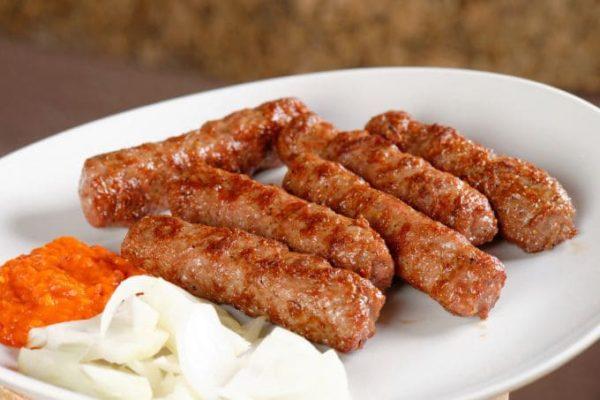 мясные колбаски по-домашнему