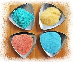 цветной песок для создания картин