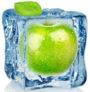 косметический лед с яблочным соком