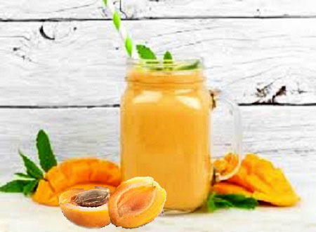 тонизирующий смузи с абрикосом