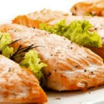 филе лосося вдуховке