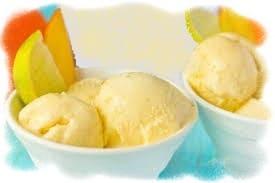мягкое мороженое с манго, манговое мороженое