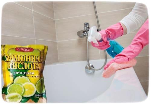 Гигиена акриловой ванны