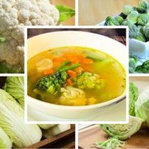 как похудеть на капусте, диетические супы
