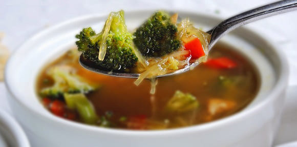 похудательный суп с брокколи