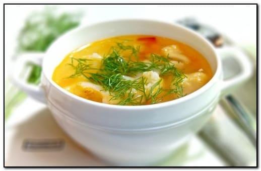 суп для похудения с цветной капустой