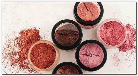 как делать минеральный макияж