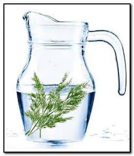 укропная вода для умывания