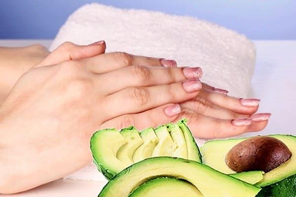 маски для рук против сухости, маски с авокадо