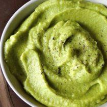 зеленое картофельное пюре необычное пюре