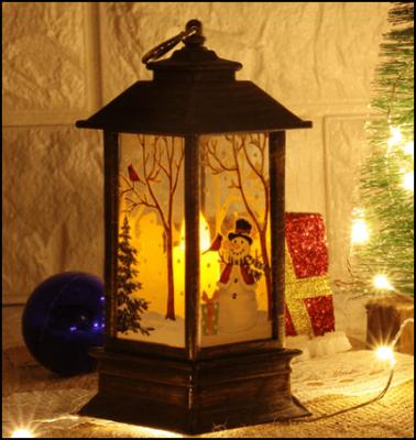новогодний подарок светильник