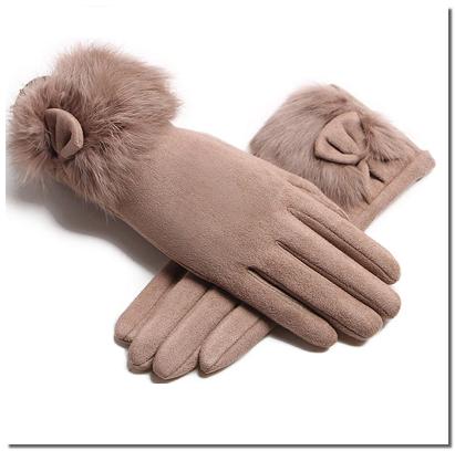 изящные сенсорные перчатки