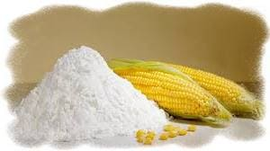 маска с кукурузным крахмалом