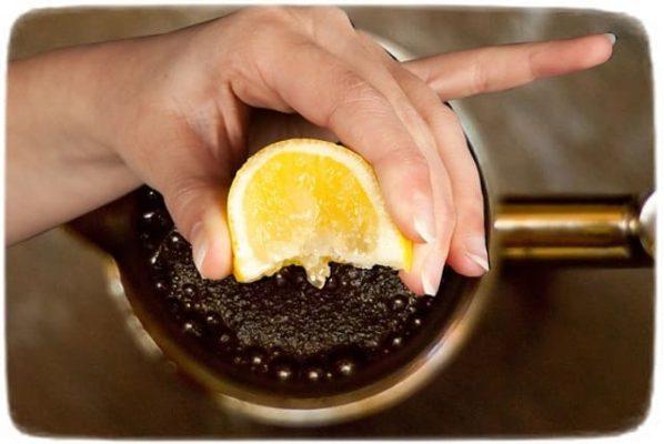 кофе с лимоном от темных кругов под глазами