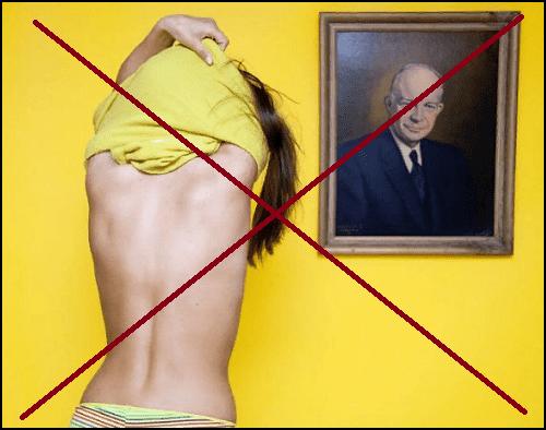 закон о раздевании перед портретами