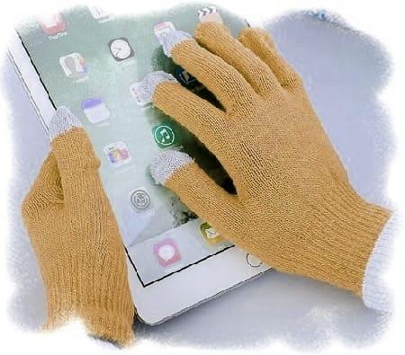 сенсорные перчатки своими руками