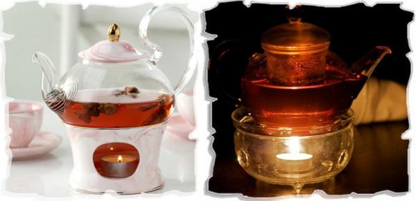 заварочные чайники со свечой