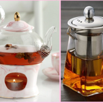 виды заварочных чайников