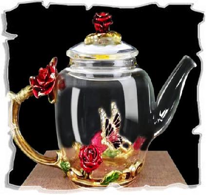 элегантный заварочный чайник
