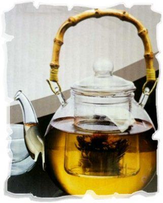 семейный заварочный чайник