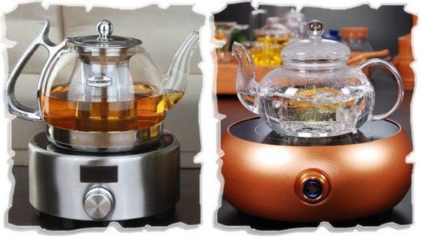 заварочные чайники на электронной подставке