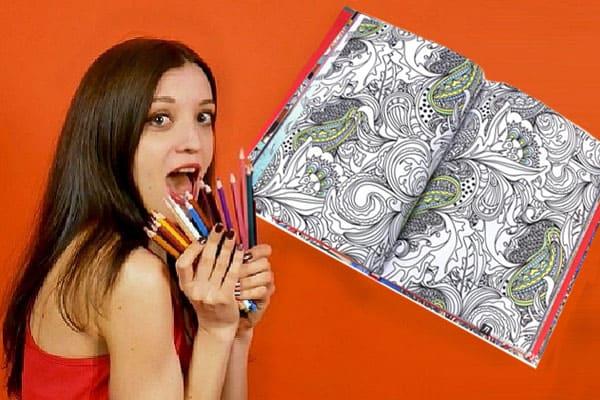 как снять стресс, раскраски против стресса