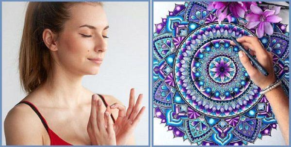 раскрашивание как способ медитации
