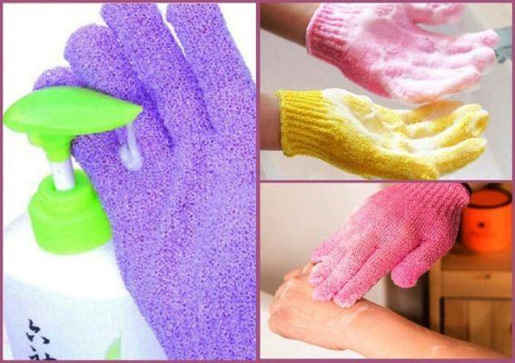 перчатки для умывания, китайские покупки