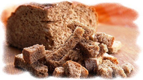 хлеб для питания и укрепления волос