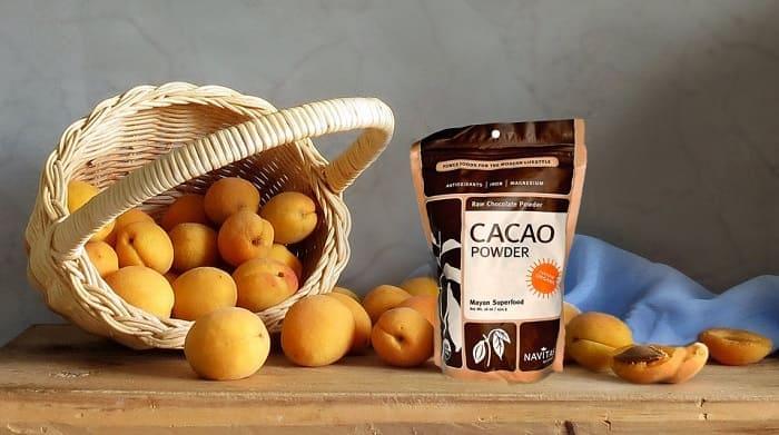 варенье из абрикос с какао