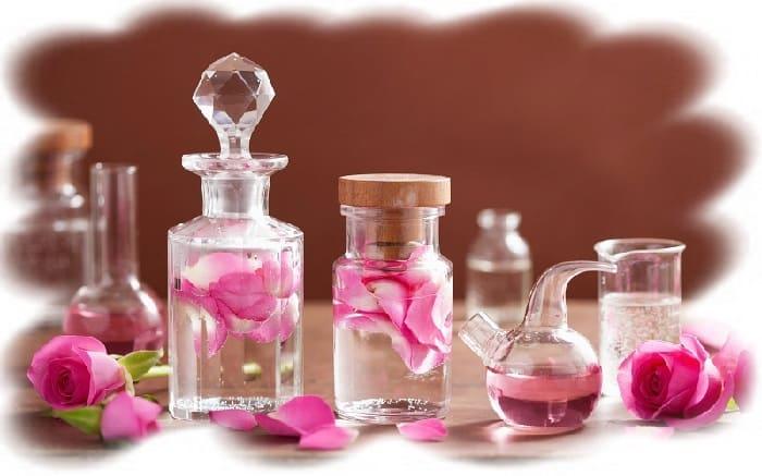 домашние гидролаты., розовая вода