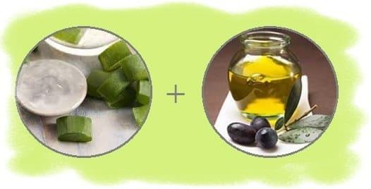 как сделать масло для массажа с алоэ
