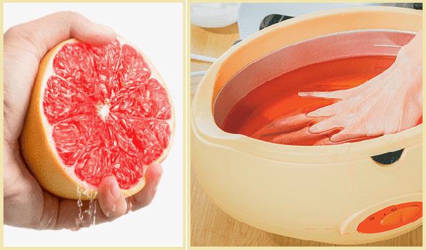 укрепляющая ванночка для ногтей с грейпфрутом