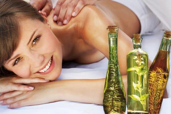 масла для массажа тела, лица и головы